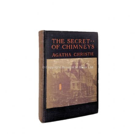 The Secret of Chimneys by Agatha Christie First Edition Dodd Mead & Company 1925